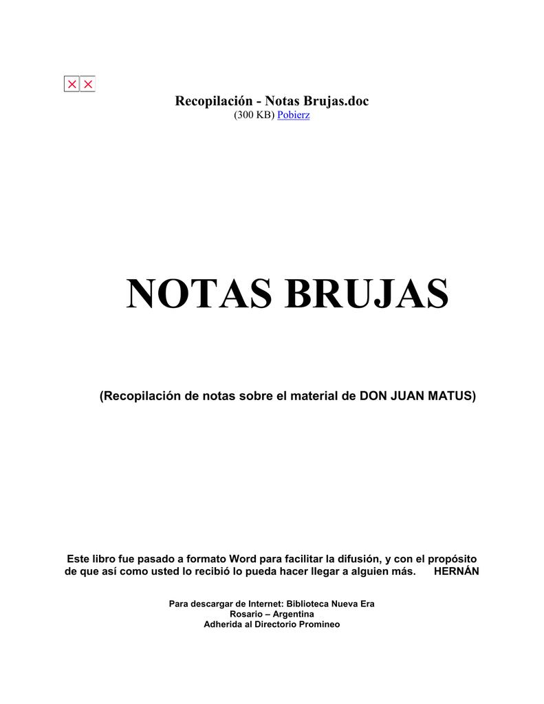 Recopilación Notas Brujas Entrevistas Bogi1969