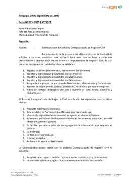 carta demostracion registro civil