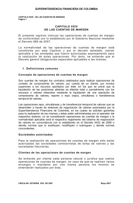 Anexo. - Superintendencia Financiera de Colombia