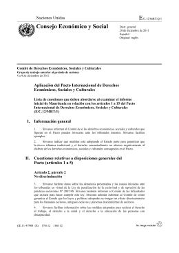 E/C.12/MRT/Q/1 - 11