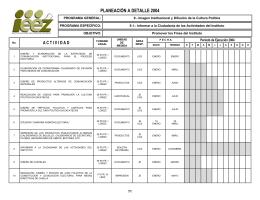 informar a la ciudadania de las actividades del instituto