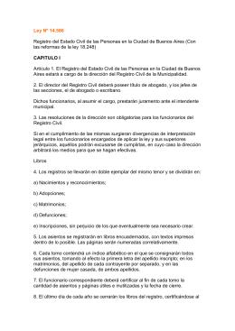 Descargar Ley Nº 14.586 - Gobierno de la Ciudad Autónoma de