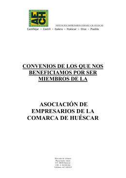 Más información - Asociación de Empresarios Comarca de Huéscar