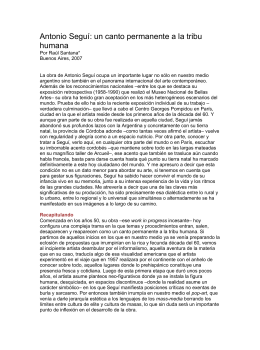 Antonio Seguí: un canto permanente a la tribu humana - No-IP