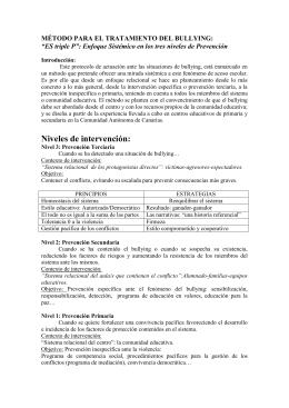 Bulling ES triple P - Gobierno de Canarias