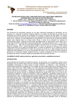 CAPITULO PRIMERO - Cooperativa Agropecuaria General Paz