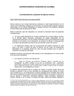 2007013442 - Superintendencia Financiera de Colombia