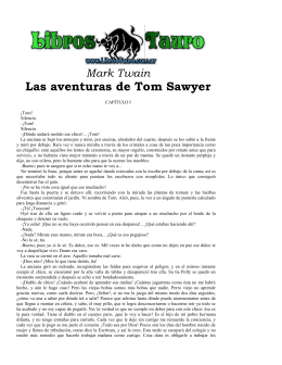 Twain, Mark - Las Aventuras de Tom Sawyer
