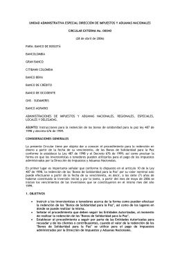unidad administrativa especial dirección de impuestos y aduanas