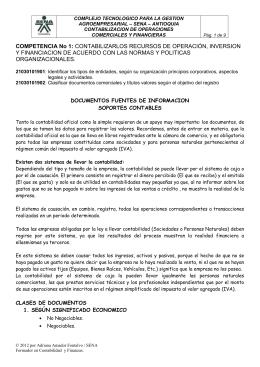 9 Documentos Fuentes de Información.