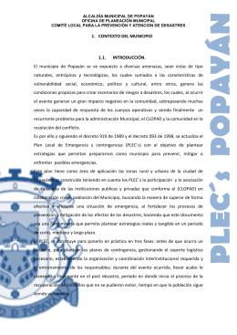 CAPITULO 1 CONTEXTO DEL MUNICIPIO