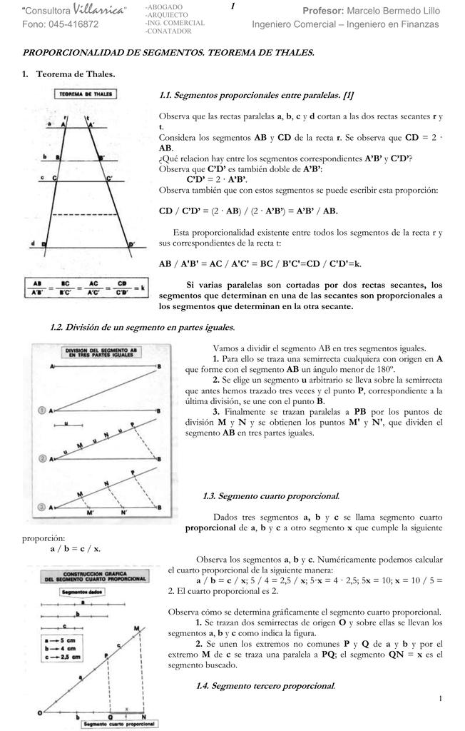 Teorema de tales - liceo politécnico c
