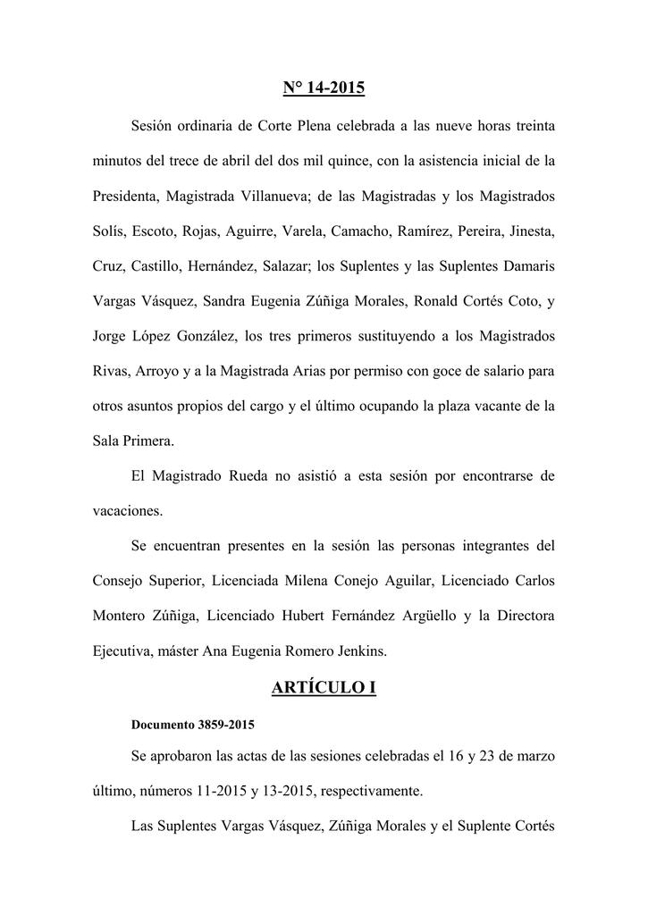 AGENDA 15-2012 - Poder Judicial