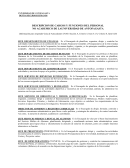 MODIFIQUESE LA PLANTA DE PERSONAL DE LA UNIVERSIDAD