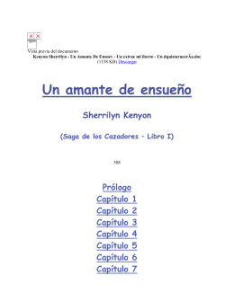 Kenyon Sherrilyn - Un Amante De Ensuev - Un extrae ml iberto