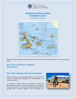 Click here to - Galapagos Journey Cruises