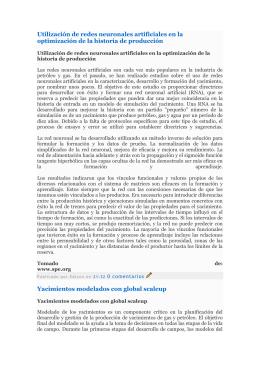 petroleros/Geomecanica Schlumberger/Modelaje del Yacimiento