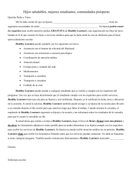 PARENT OR GUARDIAN PERMISSION FORM