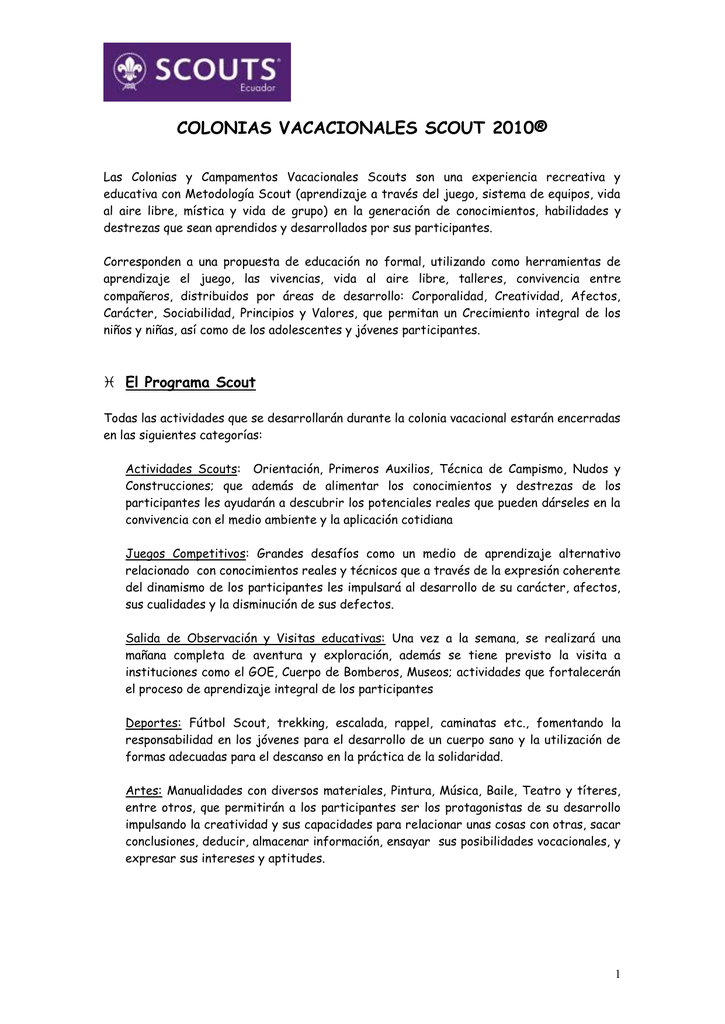 d81847766 COLONIAS VACACIONALES SCOUT