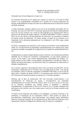 traduccion respuesta CE1 - RADA | Red de Abogados para la