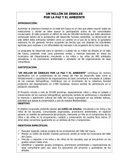 Un Millón de Árboles - Valledelcauca.gov.co
