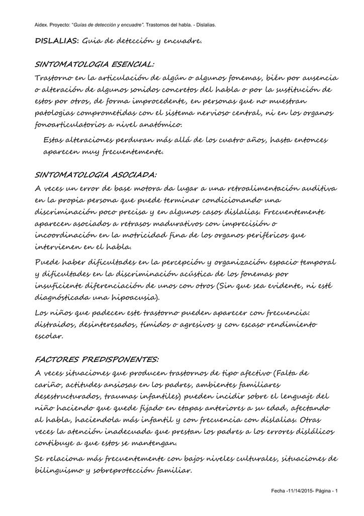 """Guías de detección y encuadre""""."""