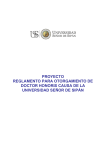 reglamento doctor honoris causa