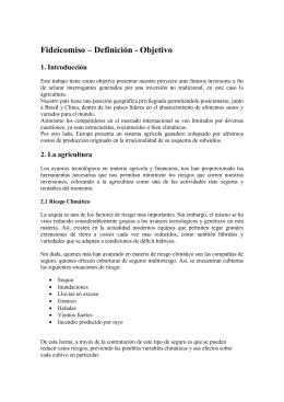 Fideicomiso – Definicion - Objetivo