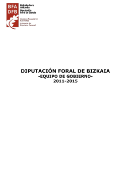 Curriculums equipo Gobierno Foral (160 Kb. )