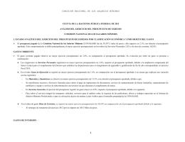 Ejemplo Análisis del Ejercicio del Presupuesto de Egresos