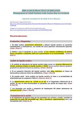 ascitis guidelines 2009 - EXTRANET