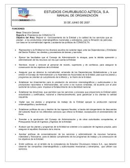 Área: Dirección General