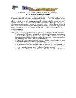Grupo Académico Colombia- Venezuela