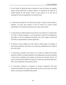 CONCLUSIONES 1.  El  nivel  medio  de ...