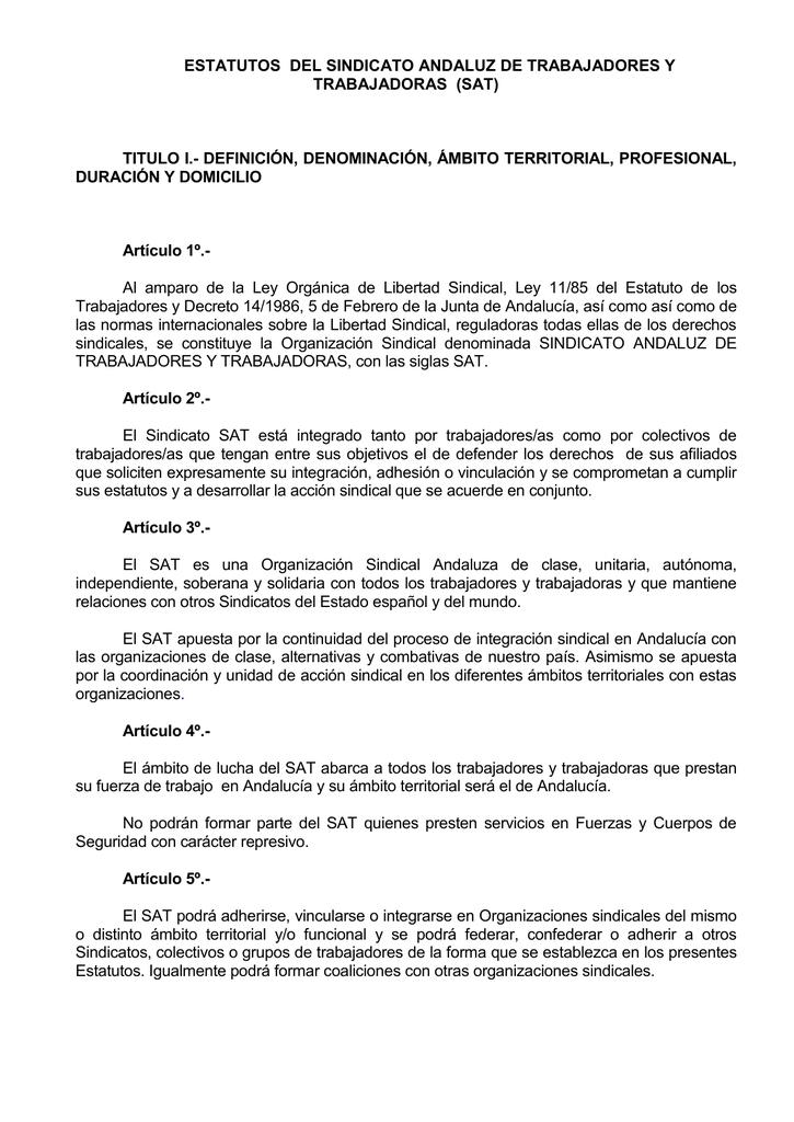 ESTATUTOS SINDICALES STPRM PDF DOWNLOAD