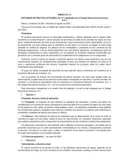 ANEXO 5.2.1-a - Comisión Nacional de Seguros y Fianzas