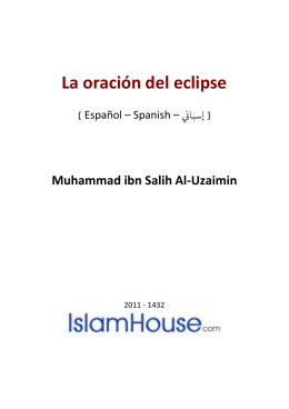 La oración del eclipse DOC