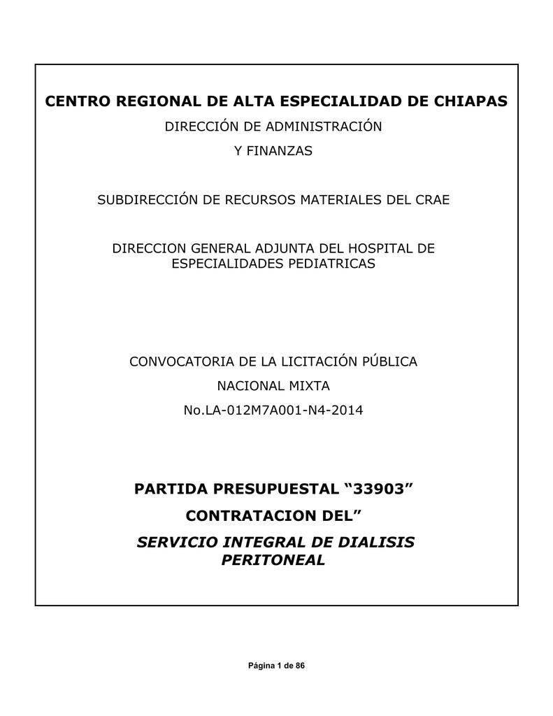 Servicio Integral de Diálisis Peritoneal