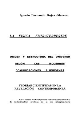 LA FÍSICA EXTRATERRESTRE
