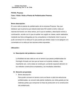 INFORME BREVE DE LOS PRESUPUESTOS DE - U