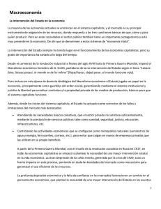 CAPÍTULO 4 VISIÓN PANORÁMICA DE LA MACROECONOMÍA La