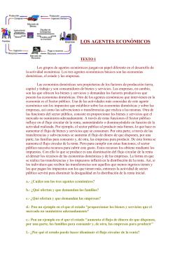 Flujo circular de la renta textos sobre los agentes econmicos ccuart Choice Image