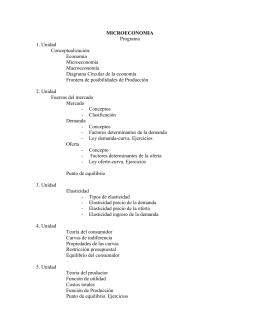 Microeconomía - Gustavo Adolfo Carrascal Córdoba