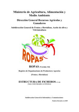 Organizaciones de Frutas y Hortalizas