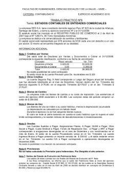 trabajo practico nº6 - Facultad de Humanidades, Ciencias Sociales