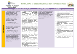 CONCRECION 3º CICLO COMPETENCIA MATEMÁTICA