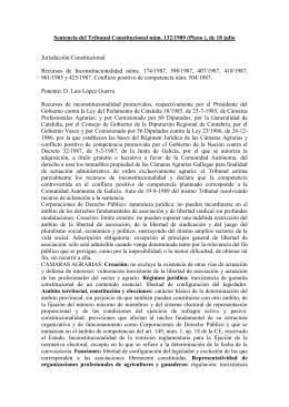 Sentencia del Tribunal Constitucional núm. 132/1989 (Pleno ), de 18...  Jurisdicción:Constitucional Recursos  de  Inconstitucionalidad  núms.  174/1987, ...