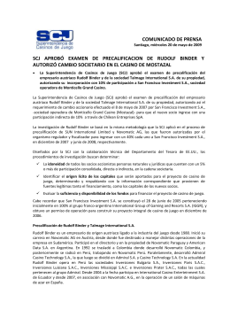 115 kb - Superintendencia de Casinos de Juego