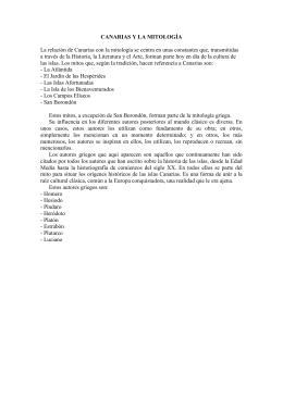 TEXTOS PAU CANARIAS