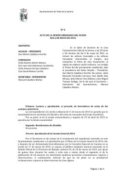 acta sesion ordinaria pleno 6 mayo 2015